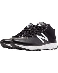 New Balance - Black Mu950 V2 Mid Umpire Shoes for Men - Lyst