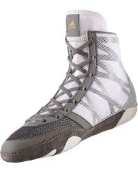 Adidas - Gray Pretereo Iii Wrestling Shoes for Men - Lyst