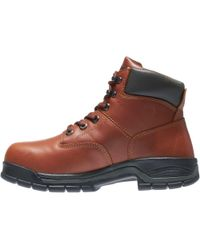 "Wolverine - Brown Harrison 6"" Work Boots for Men - Lyst"