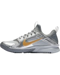 Nike - Metallic Alpha Huarache Turf Baseball Trainers for Men - Lyst