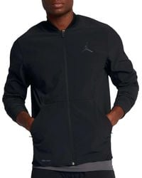 Nike - Black Ultimate Flight Full Zip Basketball Jacket for Men - Lyst