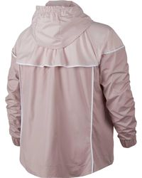 Nike - Pink Plus Size Sportswear Windrunner Jacket for Men - Lyst