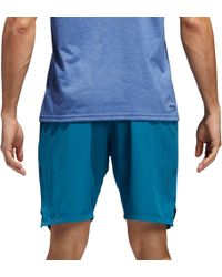Adidas - Blue Axis Woven Training Shorts for Men - Lyst
