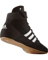 Adidas - Black Hvc 2 Wrestling Shoes for Men - Lyst