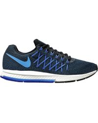 653f6545559 Lyst - Nike Zoom Pegasus 32 Running Shoes in Blue