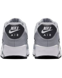 Nike Gray Air Max '90 Shoes