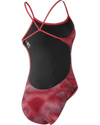 Nike - Black Vibe Cut-out Swimsuit - Lyst
