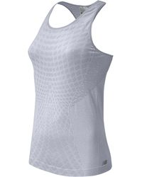 New Balance - Multicolor Made For Movement Seamless Running Tank Top - Lyst