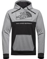The North Face - Gray Surgent Super Fine Bloc Hoodie for Men - Lyst