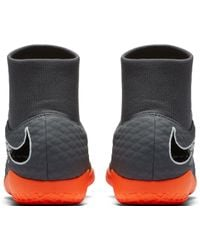 Nike - Gray Hypervenom Phantomx 3 Academy Dynamic Fit Indoor Soccer Shoes for Men - Lyst