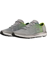 Under Armour Gray Velociti 2 Record Equipped Running Shoes for men