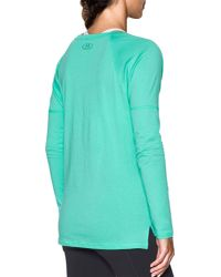 Under Armour - Blue Favorite Long Sleeve Shirt - Lyst