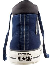 Converse - Blue Chuck Taylor All Star Canvas Shield Casual Shoes for Men - Lyst