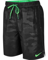 Nike - Black Core Camocean 7'' Volley Shorts for Men - Lyst