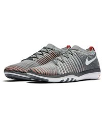 2ae1c609ee14 Lyst - Nike Free Transform Flyknit Training Shoes in Gray