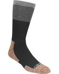 Carhartt - Black Force Steel Toe Copper Crew Socks for Men - Lyst