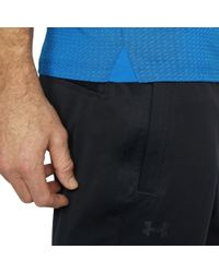 Under Armour - Blue Threadborne 1⁄4 Zip Golf Shirt for Men - Lyst