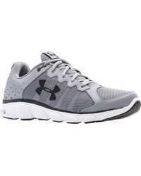 Under Armour - Gray Assert 6 Running Shoes for Men - Lyst