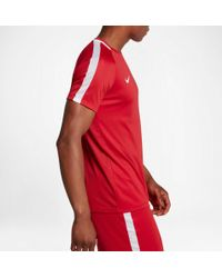 Nike - Red Dry Academy Soccer T-shirt for Men - Lyst