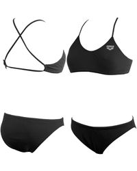Arena - Black Nadine Crossback 2-piece Swimsuit - Lyst