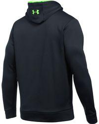 ee550172b Lyst - Under Armour Storm Armour Fleece Logo Hoodie in Black for Men
