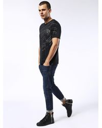 DIESEL Black S-nentish for men