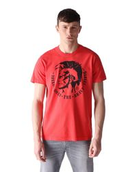 DIESEL | Red T-ulysse for Men | Lyst