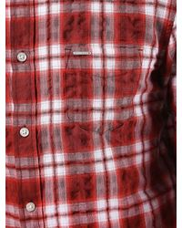 DIESEL | Red Shirt for Men | Lyst