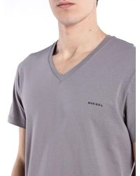 DIESEL - Gray Umtee-michael for Men - Lyst