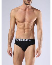 DIESEL - Black Umbr-bladethreepack for Men - Lyst