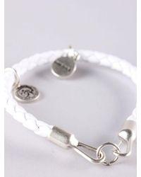 DIESEL - White Asanty Bracelet for Men - Lyst