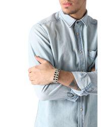 DIESEL - Natural Apunky Bracelet for Men - Lyst
