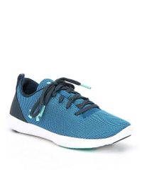 Under Armour - Red Women's Street Prec Sport Lo Lifestyle Shoes - Lyst