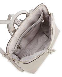 MICHAEL Michael Kors - Multicolor Silver-tone Rhea Slim Zip Backpack - Lyst