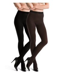 Spanx - Black Tight End Reversible Tights - Lyst