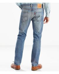 Levi's - Blue ® Big & Tall 501 Stretch Original Fit Jeans for Men - Lyst