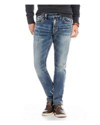 Silver Jeans Co. - Blue Taavi Slim Fit Jeans for Men - Lyst