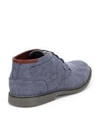 Kenneth Cole Reaction - Blue Men's Design 20925 Chukka Boots for Men - Lyst