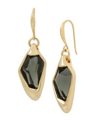 Robert Lee Morris - Metallic Abstract Faceted Drop Earrings - Lyst