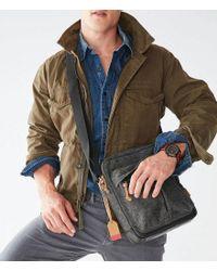 Fossil - Gray Defender Ns City Bag for Men - Lyst