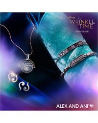 ALEX AND ANI - Metallic A Wrinkle In Time Most Beautiful Dream Spinner Necklace - Lyst