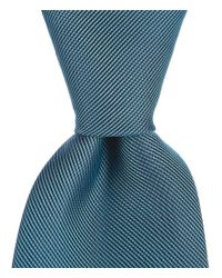 "Murano - Blue Big & Tall Solid Traditional Silk 3.12"" Tie for Men - Lyst"
