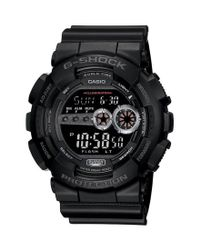 G-Shock | Black Xl Resin Digital Watch for Men | Lyst