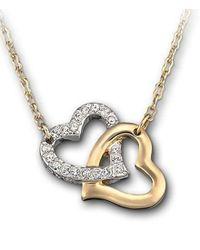 Swarovski - Metallic Match Pendant Necklace - Lyst