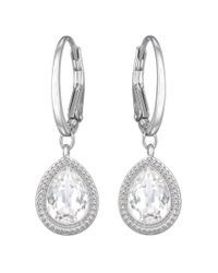 Swarovski - Metallic Aneesa Pierced Earrings - Lyst