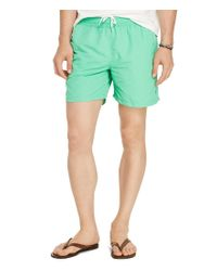 Polo Ralph Lauren | Green Hawaiian Swim Boxers for Men | Lyst