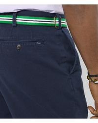 Polo Ralph Lauren - Blue Big & Tall Classic-fit Flat-front Chino Short for Men - Lyst