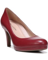 Naturalizer | Red Michelle Pumps | Lyst