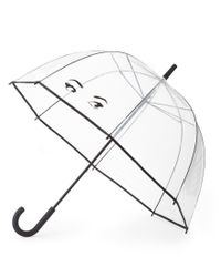 kate spade new york | Multicolor Winking Eyes Bubble Umbrella | Lyst
