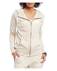 Nike | Natural Gym Vintage Full-zip Women ́s Hoodie | Lyst